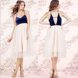 Lauren Conrad Runway Collection Velvet&Tulle Dress
